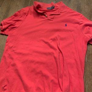 Ralph Lauren Shirts - Coral lg polo Ralph Lauren
